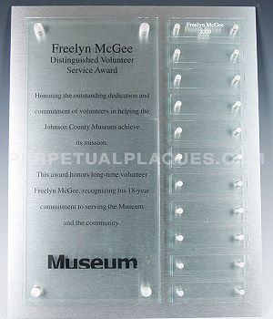 Some samples of our custom perpetual plaques  Sample 2
